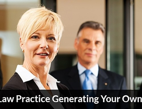 Grow Your Law Practice Generating Your Own Leads